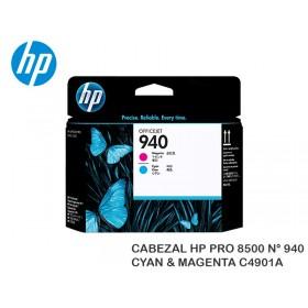 CABEZAL HP PRO 8500 N° 940 CYAN & MAGENTA C4901A