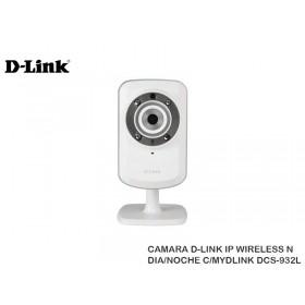 CAMARA D-LINK IP WIRELESS N DIA/NOCHE C/MYDLINK DCS-932L