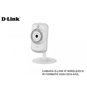 CAMARA D-LINK IP WIRELESS N IR FORMATO H264 DCS-942L
