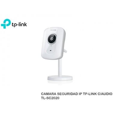 CAMARA SEGURIDAD IP TP-LINK C/AUDIO TL-SC2020