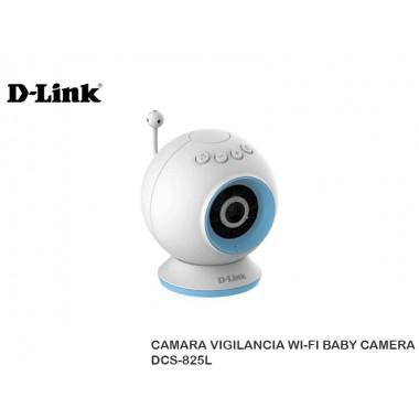 CAMARA VIGILANCIA WI-FI BABY CAMERA DCS-825L
