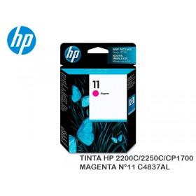 TINTA HP 2200C/2250C/CP1700 MAGENTA N°11 C4837AL