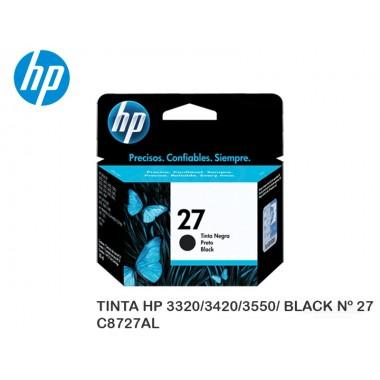 TINTA HP 3320/3420/3550/ BLACK Nº 27 C8727AL
