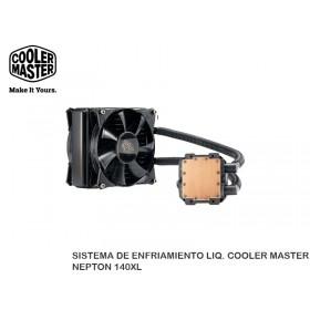 SISTEMA DE ENFRIAMIENTO LIQ. COOLER MASTER NEPTON 140XL