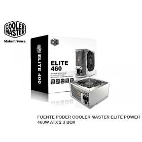 FUENTE PODER COOLER MASTER ELITE POWER 460W ATX 2.3 BOX