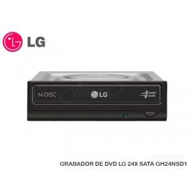GRABADOR DE DVD LG 24X SATA GH24NSD1