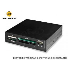 "LECTOR DE TARJETAS 3.5"" INTERNA C-002 DATAONE"