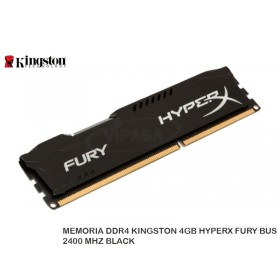 MEMORIA DDR3 KINGSTON 8GB BUS 1866 HX FURY NEGRO