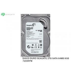 DISCO DURO SEAGATE 2TB SATA 64MB 6GB 7200RPM