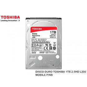 DISCO DURO TOSHIBA 1TB 2.5HD L200 MOBILE P/NB
