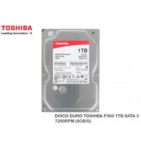 DISCO DURO TOSHIBA P300 1TB SATA 3 7200RPM (6GB/S)