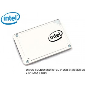 "DISCO SOLIDO SSD INTEL 512GB 545S SERIES 2.5"" SATA 6 GB/S"