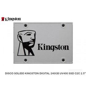 "DISCO SOLIDO KINGSTON DIGITAL 240GB UV400 SSD C2C 2.5"""