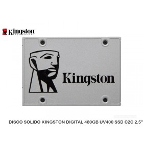"DISCO SOLIDO KINGSTON DIGITAL 480GB UV400 SSD C2C 2.5"""