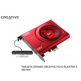 TARJETA SONIDO CREATIVE PCI-E BLASTER Z SB1500