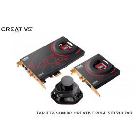 TARJETA SONIDO CREATIVE PCI-E SB1510 ZXR