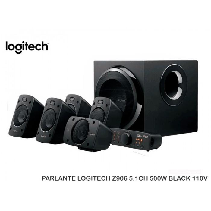 PARLANTE LOGITECH Z906 5.1CH 500W BLACK 110V