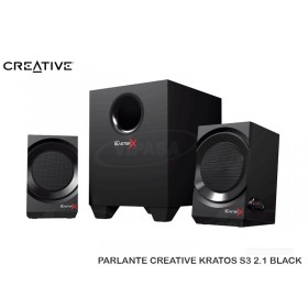 PARLANTE CREATIVE KRATOS S3 2.1 BLACK