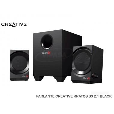 PARLANTE CREATIVE KRATOS S3 2.1 BLACK