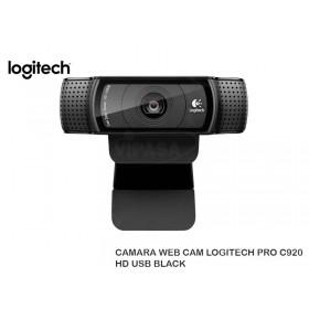 CAMARA WEB CAM LOGITECH PRO C920 HD USB BLACK