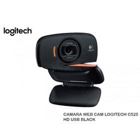 CAMARA WEB CAM LOGITECH C525 HD USB BLACK