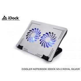 COOLER NOTEBOOK IDOCK N5-3 ROYAL SILVER