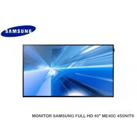 "MONITOR SAMSUNG FULL HD 40"" ME40C 450NITS"