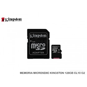 MEMORIA MICROSDXC KINGSTON 128GB CL10 G2