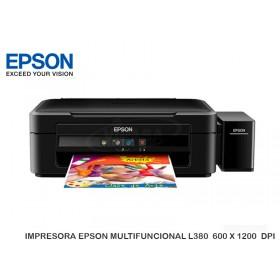 IMPRESORA EPSON MULTIFUNCIONAL L380  600 X 1200  DPI