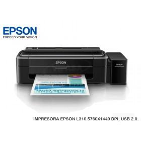 IMPRESORA EPSON L310 5760X1440 DPI, USB 2.0.