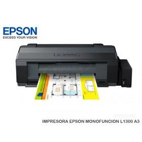 IMPRESORA EPSON MONOFUNCION L1300 A3