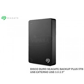 DISCO DURO SEAGATE BACKUP PLUS 5TB USB EXTERNO USB 3.0 2.5""