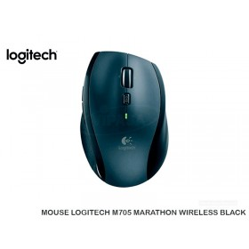 MOUSE LOGITECH M705 MARATHON WIRELESS BLACK