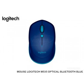 MOUSE LOGITECH M535 OPTICAL BLUETOOTH BLUE