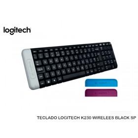 TECLADO LOGITECH K230 WIRELEES BLACK SP