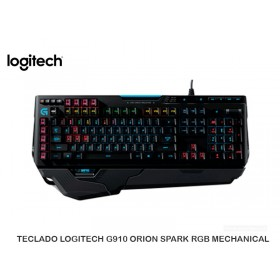 TECLADO LOGITECH G910 ORION SPARK RGB MECHANICAL