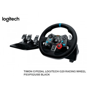 TIMON C/PEDAL LOGITECH G29 RACING WHEEL PS3/PS2USB BLACK