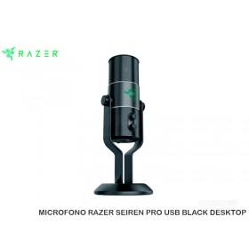 MICROFONO RAZER SEIREN PRO USB BLACK DESKTOP