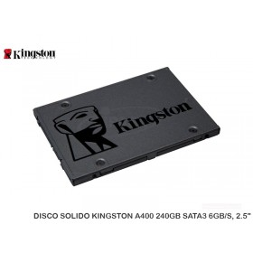 """DISCO SOLIDO KINGSTON A400 240GB SATA3 6GB/S, 2.5"""""""