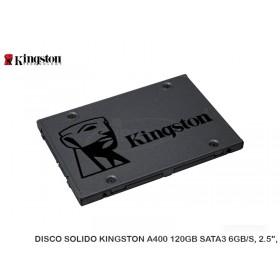 """DISCO SOLIDO KINGSTON A400 120GB SATA3 6GB/S, 2.5"""","""