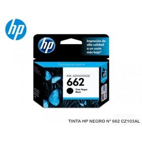 TINTA HP NEGRO N° 662 CZ103AL