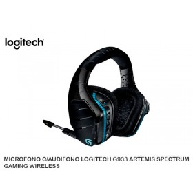 MICROFONO C/AUDIFONO LOGITECH G933 ARTEMIS SPECTRUM GAMING WIRELESS