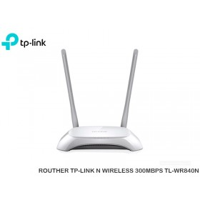 ROUTHER TP-LINK N WIRELESS 300MBPS TL-WR840N