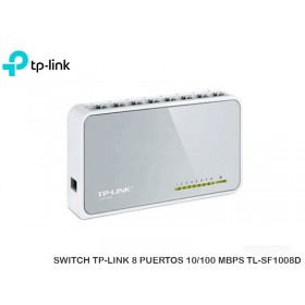 SWITCH TP-LINK 8 PUERTOS 10/100 MBPS TL-SF1008D