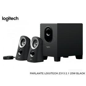 PARLANTE LOGITECH Z313 2.1 25W BLACK