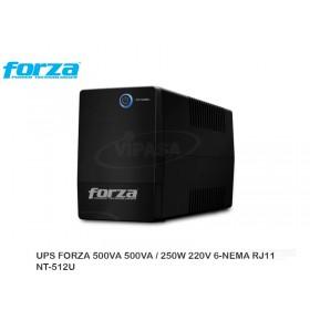 UPS FORZA 500VA 500VA / 250W 220V 6-NEMA RJ11  NT-512U