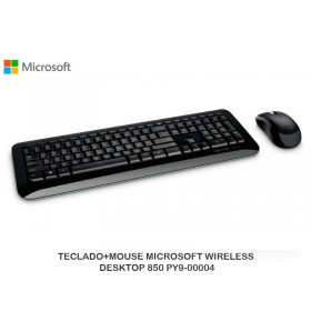 TECLADO+MOUSE MICROSOFT WRLES DESKTOP 850 PY9-00004