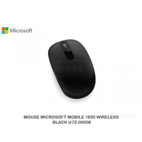 MOUSE MICROSOFT MOBILE 1850 WIRELESS BLACK U7Z-00008