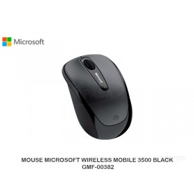 MOUSE MICROSOFT WIRELESS MOBILE 3500 BLACK GMF-00382