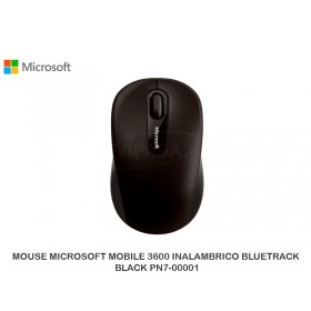 MOUSE MICROSOFT MOBILE 3600 INALAMBRICO BLUETRACK BLACK PN7-00001